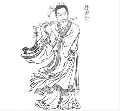 吕洞宾点化,韩湘子成仙的故事