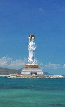 世界上最高的海上观音像