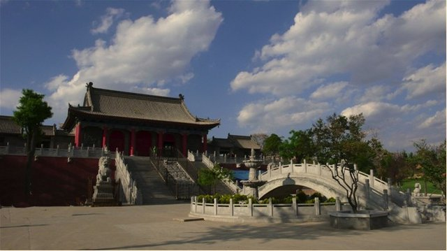 净宗祖庭:西安香积寺