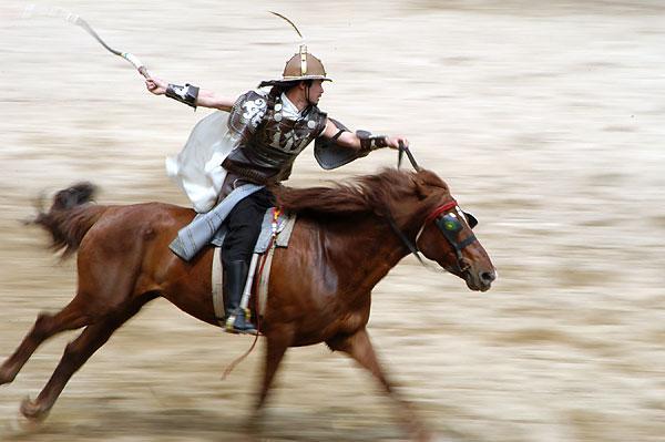 汗血马曾是匈奴骑兵坐骑 汉武帝为其攻打大宛