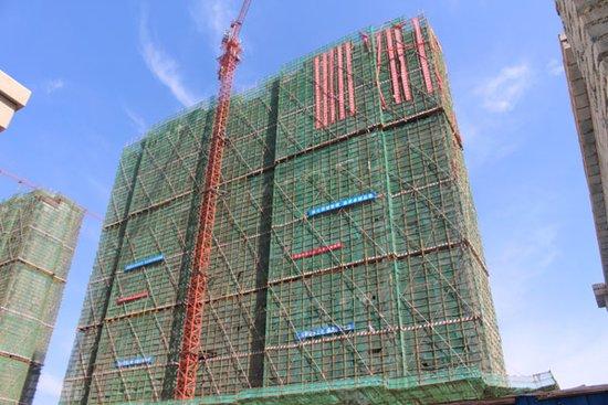 建业壹号城邦工程进度一览