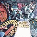 又到月饼季 上海两条著名的月饼街大排长龙
