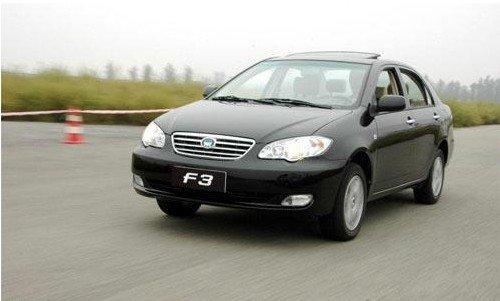 现在比亚迪f3 2012款舒适性老款清库,部分车型最高优惠现金1.