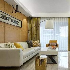 122�O现代时尚三居室装修