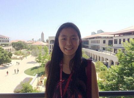 美国华裔女生同时被5所顶尖大学录取