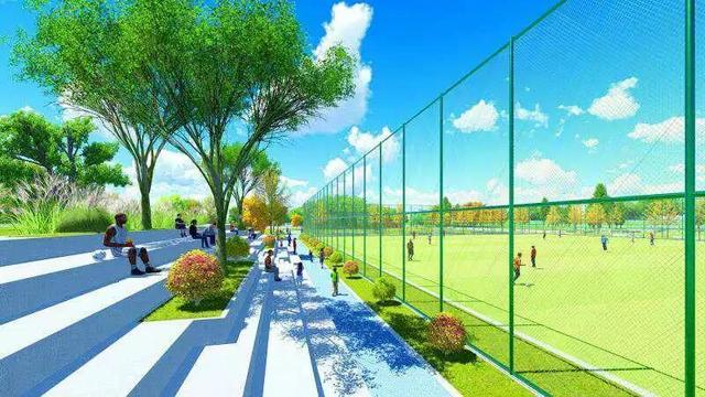 上海市民体育公园一期项目开工 打造全民健身型足球乐园