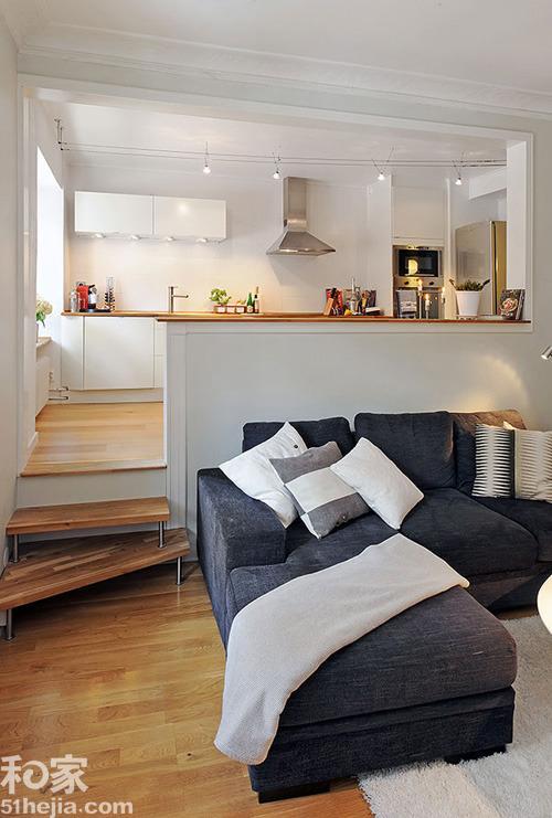 墙洞与地台 8个设计有效利用室内畸零角落图片