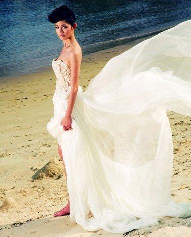 拍婚纱照应该穿什么内衣