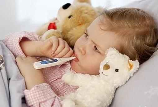 孩子发烧感冒后嗜睡