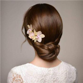 韩式婚纱照新娘发型推荐 新娘婚礼造型图片