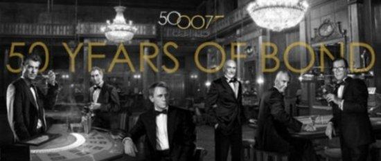 本届奥斯卡将致敬007 六任邦德悉数登场