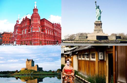 出境游功课提前做 2012各国免签新政策