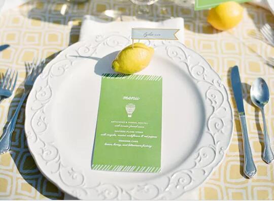 简洁小清新风户外婚礼 如何打造户外婚礼场景