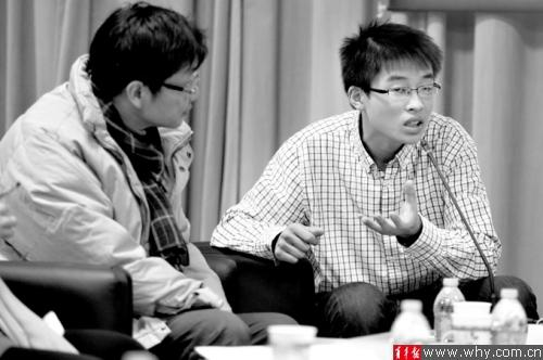 杨浦区开展中学生学术节 学生学者切磋课题