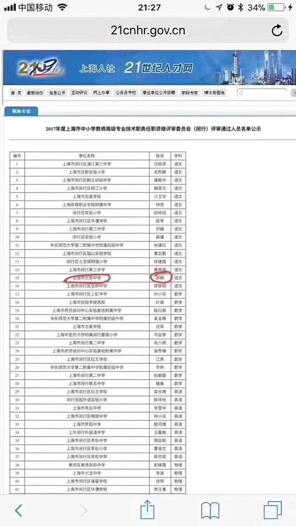 闵行一女教师曾殴打医生 如今上高级职称评审名单