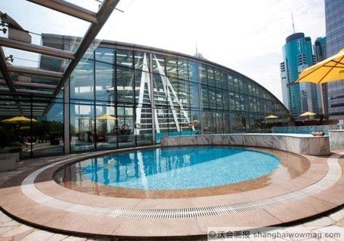 沪上顶级酒店泳池地图