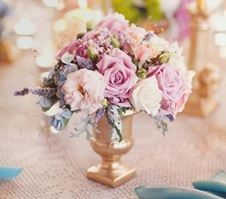 四种时尚的婚礼用花 打造最完美的婚礼
