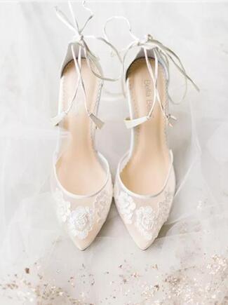 2018年超时髦的婚鞋流行趋势 华美又特别的新娘婚鞋
