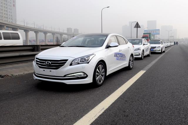 2014年北京现代名图阳澄湖自驾游圆满结束