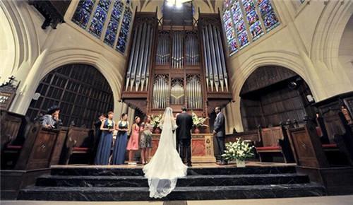 教堂婚礼的四大流程新人必知