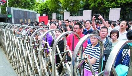 2015年上海高考昨平稳开考 高考不再是生死攸关