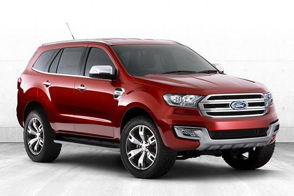 7座硬货 江铃福特联手将发布全新SUV高清图片
