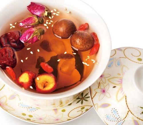 桂圆红枣枸杞茶的功效与作用