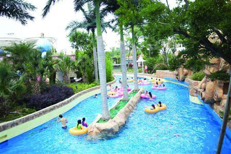 上海玛雅水公园6月16日激爽开放