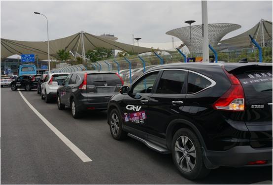 CR-V突破百万辆沪环城巡游记 城中无人不识君