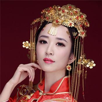 中式新娘妆的画法技巧图片