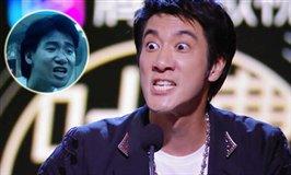 王力宏爆笑还原张学友表情包