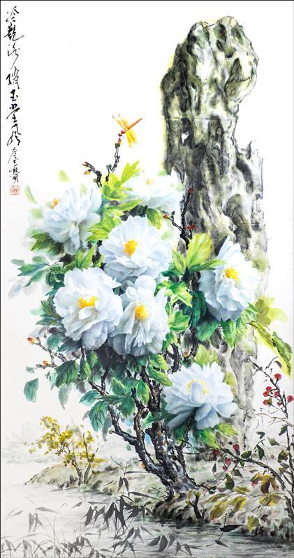 从流浪画家到卢浮宫签约画家 熊明画展首次亮相上海