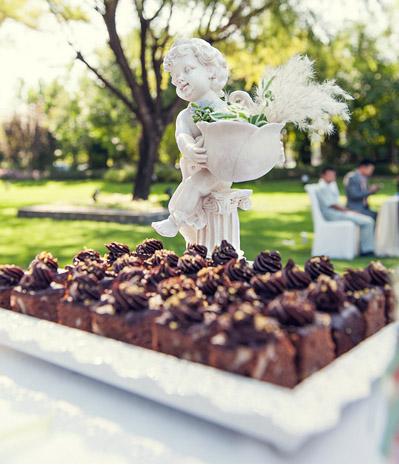 欲罢不能的结婚甜品 户外婚礼的甜品推荐