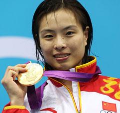 吴敏霞加冕女子3米板冠军