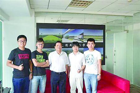 上海电机学院大四学生休学创业一年后重返校园