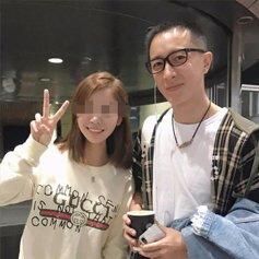 网友逛街偶遇韩庚 发际线令人担忧