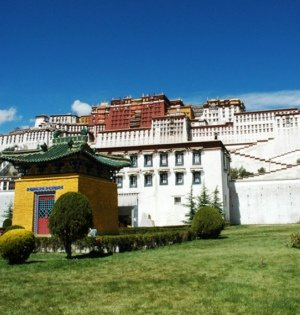 金秋十月游西藏 观赏雪景正当季
