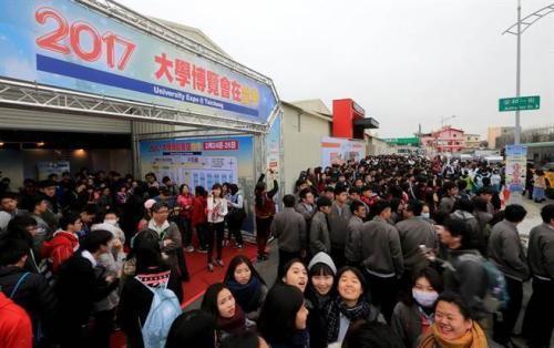 台湾学测顶标生 申请赴大陆求学人数暴增6倍