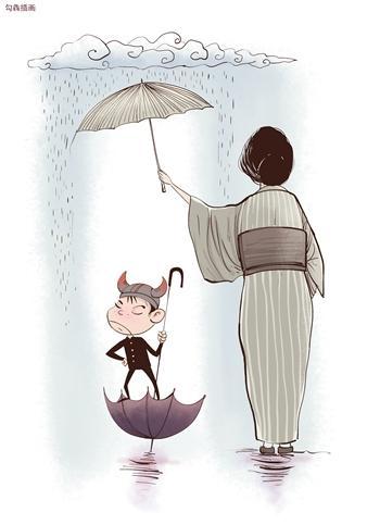 雨后的故事动态画  雨后的故事二动态图  雨后姐弟小故事图片