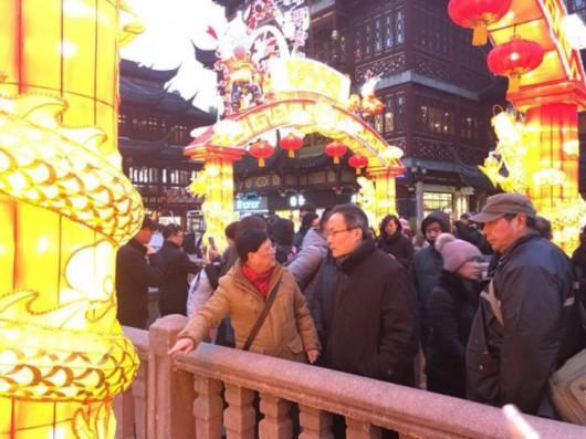 """豫园灯会打造""""昼景夜灯"""" 春节长假参观人数再创新高"""