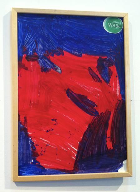 献出爱心 自闭症患儿画作线上拍卖4月2日启动