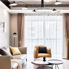 79平现代惬意三室