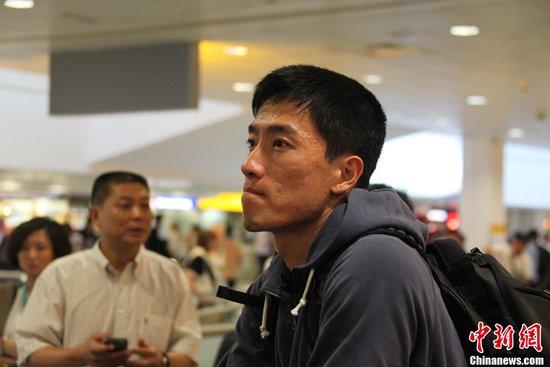 刘翔团队抵伦敦遭不顺 称没把钻石联赛当回事