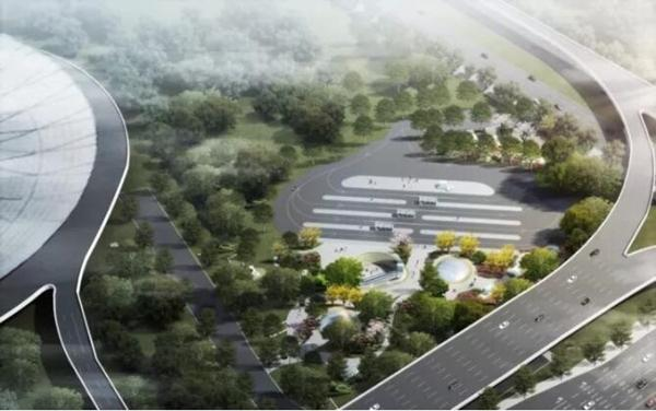 15号线上海南站站设计方案亮相 将可换乘1号线和铁路