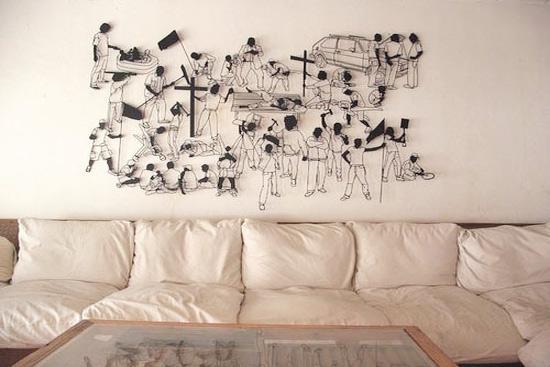 墙面设计图案大全