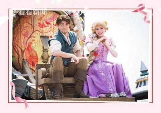 """迪士尼""""长发公主""""乐佩将于情人节现身绚景楼"""