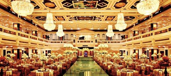 上海婚礼中心金色大厅宴会厅