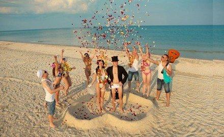 海滩夏日婚礼衣食住行全攻略农家全攻略装修图片