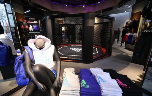ONE SPORTS携手adidas格斗运动产品打造实景新零售