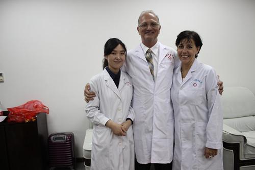 上海真美妇科医院出席国际妇科微创新技术推广